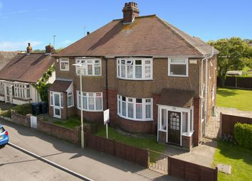 Thumbnail 3 bedroom semi-detached house for sale in Fleetwood Avenue, Herne Bay, Kent