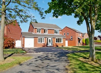 Thumbnail 4 bed detached house for sale in Staffordshire Drive, Durham