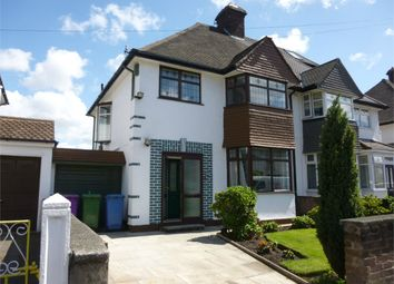 Thumbnail 3 bed semi-detached house to rent in Bellefield Avenue, Liverpool, Merseyside