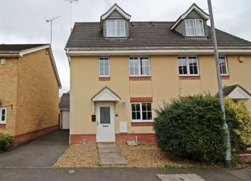 Thumbnail 3 bed semi-detached house for sale in Draper Way, Leighton Buzzard