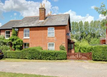 Thumbnail 3 bed semi-detached house for sale in Lockerley Green, Lockerley, Romsey, Hampshire
