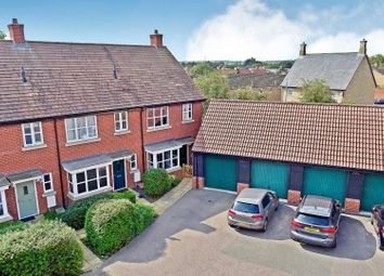Thumbnail End terrace house for sale in Meadow Walk, Henlow