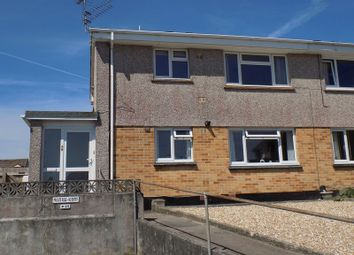 Thumbnail 1 bed flat for sale in Pennor Drive, St. Austell