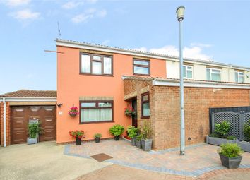 Thumbnail 3 bed semi-detached house for sale in St Albans Close, Rodbourne, Swindon, Wiltshire
