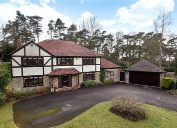 Thumbnail 5 bed detached house for sale in Sparrowhawk Close, Ewshot, Farnham