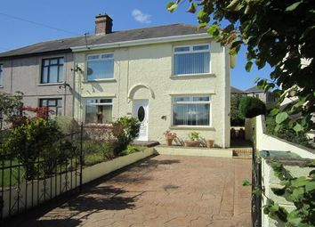 Thumbnail 2 bed semi-detached house for sale in Heolddu Grove, Bargoed