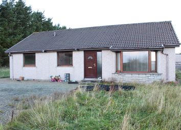 Thumbnail 3 bed detached bungalow for sale in Newton Hill, Wick