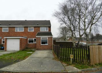 Thumbnail 3 bed semi-detached house for sale in Cae Odin, Brackla, Bridgend