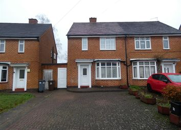 Thumbnail 2 bed semi-detached house for sale in Shirley Park Road, Shirley, Solihull