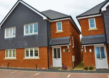Thumbnail 3 bed semi-detached house for sale in Steeplechase Rise, Picket Twenty, Andover