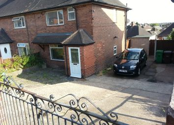 Thumbnail 3 bedroom semi-detached house for sale in Bestwood, Nottingham