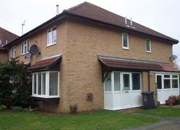 Thumbnail 1 bed property to rent in Odell Close, Kempston, Bedford
