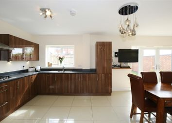 Thumbnail 4 bed detached house for sale in Spruce Drive, Ravenstone, Coalville