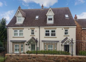Thumbnail 4 bedroom semi-detached house for sale in Whitton View, Rothbury, Morpeth