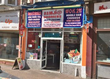 Thumbnail Restaurant/cafe for sale in Skinner Street, Newport
