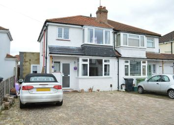 Thumbnail 3 bed semi-detached house for sale in Southville Close, West Ewell, Epsom