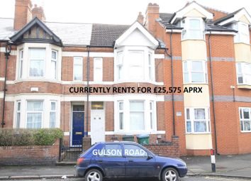 Thumbnail 4 bed terraced house for sale in Gulson Road, Coventry