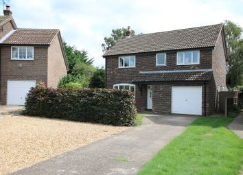 Thumbnail 4 bed detached house for sale in Scotgate Close, Great Hockham, Thetford
