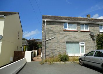 Thumbnail 2 bed flat to rent in Treviglas Close, Newquay