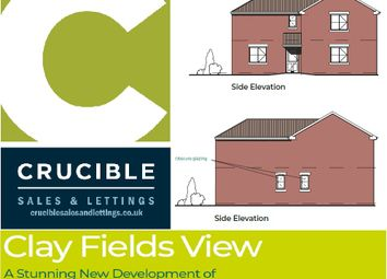 Thumbnail 3 bed detached house for sale in Plot 10, Clay Fields View, Clay Cross, Chesterfield