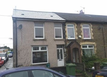Thumbnail 3 bedroom end terrace house to rent in Commercial Street, Beddau, Pontypridd