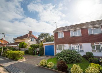 Thumbnail 3 bed semi-detached house for sale in Roselands Close, Eastbourne
