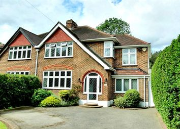 Thumbnail 4 bed semi-detached house for sale in Salisbury Road, Worcester Park