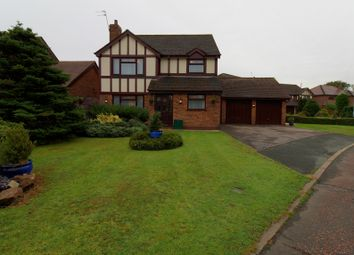 Thumbnail 4 bed detached house for sale in Bristow Close, Great Sankey, Warrington