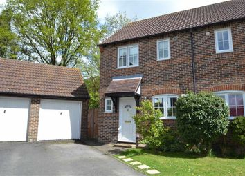 Thumbnail 2 bed semi-detached house for sale in Larkspur Gardens, Thatcham, Berkshire