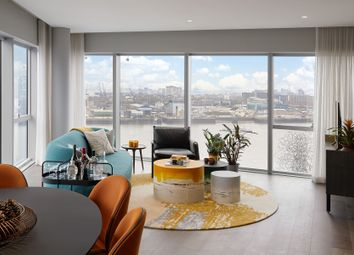 Thumbnail 2 bed property for sale in No.5, 2 Cutter Lane, Upper Riverside, Greenwich Peninsula