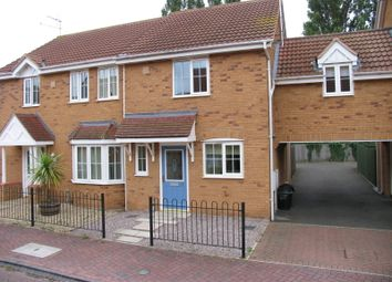 Thumbnail 2 bed semi-detached house to rent in Jubilee Way, Crowland, Peterborough