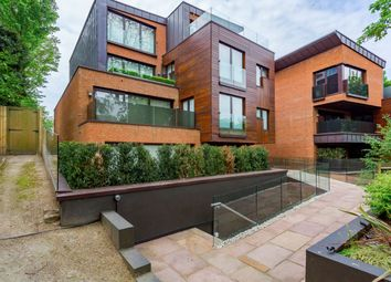 Thumbnail 3 bed flat to rent in West Heath Road, London
