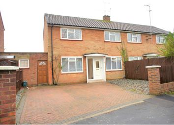 Thumbnail 2 bed semi-detached house for sale in Bracknell Close, Camberley