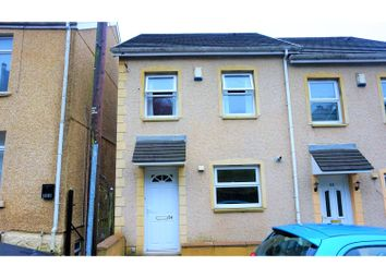 Thumbnail 3 bedroom town house for sale in Trewyddfa Road, Swansea