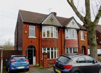 Thumbnail 3 bed semi-detached house for sale in Walker Avenue, Whitefield, Whitefield Manchester