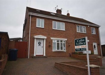 Thumbnail 4 bed semi-detached house for sale in Norfolk Road, South Shields