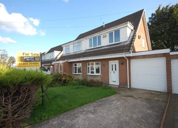 Thumbnail 3 bed semi-detached house for sale in Harpford Drive, Bolton