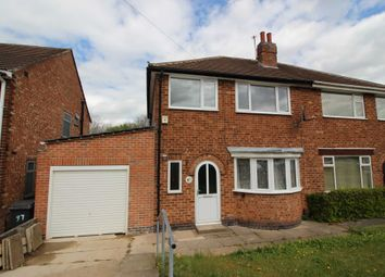 Thumbnail 4 bed semi-detached house for sale in Heacham Drive, Leicester