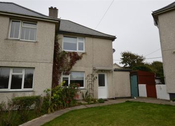 Thumbnail 2 bed semi-detached house for sale in St Ives Lane, Gwithian, Hayle, Cornwall