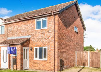 Thumbnail 2 bed semi-detached house to rent in Meadow Way, Hellesdon, Norwich