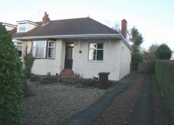 Thumbnail 2 bed semi-detached bungalow for sale in Townhead Road, Coatbridge