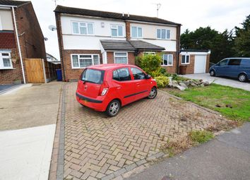 Thumbnail 3 bed semi-detached house for sale in Lower Crescent, Linford, Stanford-Le-Hope