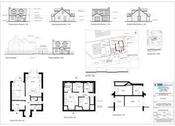 Thumbnail 3 bed detached house for sale in Pensby Road, Heswall, Wirral