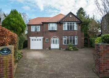 Thumbnail 5 bed detached house for sale in Kenwood Avenue, Hale, Altrincham