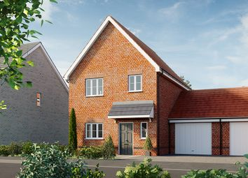 Thumbnail 3 bed detached house for sale in Heckfords Road, Great Bentley, Colchester