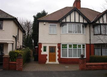 Thumbnail 3 bedroom semi-detached house to rent in Manor Avenue, Fulwood, Preston, Lancashire