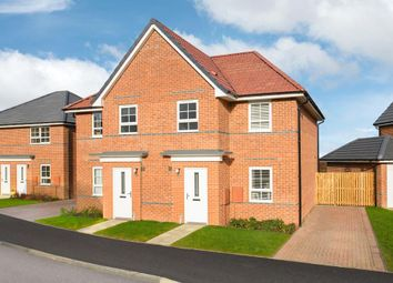 """Thumbnail 3 bedroom end terrace house for sale in """"Palmerston"""" at Wheatley Hall Road, Doncaster"""