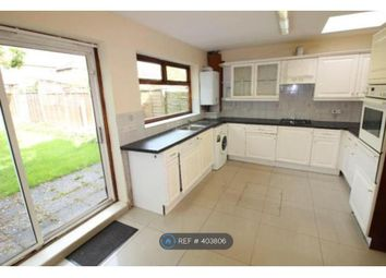 Thumbnail 4 bed terraced house to rent in Sandringham Road, Worcester Park