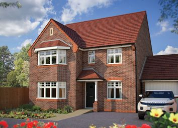 "Thumbnail 5 bed detached house for sale in ""The Oxford"" at Harvest Rise, Shefford"