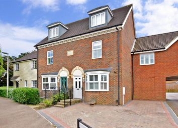 Thumbnail 3 bed terraced house for sale in Toad Hall Crescent, Chattenden, Rochester, Kent